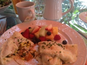 Egg White Crab Cheese Omelette Idea
