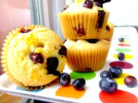 blueberry lemon muffins alt2
