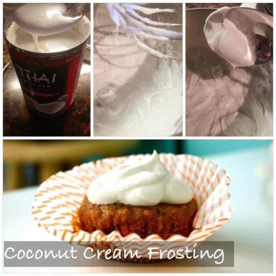 Skinny Frosting: Coconut Cream http://glutenfreeskinny.net