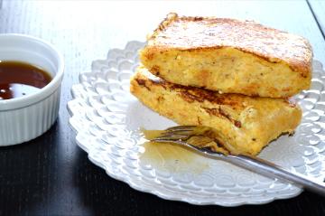 French Toast Corn Bread Gluten Free