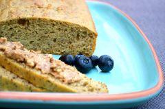 Paleo bread. Gluten free, lactose free, grain free, no yeast bread at http://glutenfreeskinny.net