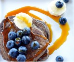 Buckwheat gluten free pancakes they are delicious! http://glutenfreeskinny.net