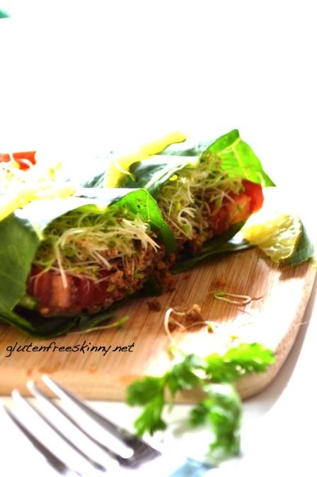 Beauty Detox Gorilla Taco Wrap Vegan Gluten Free