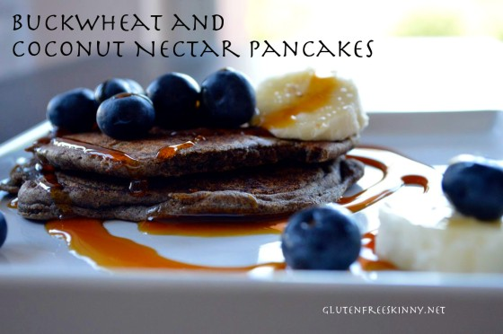 Buckwheat Pancakes gluten free http://glutenfreeskinny.net